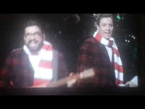 Christmas song jimmy fallon saturday night live - YouTube