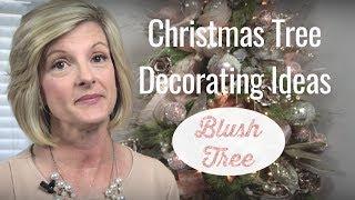 Christmas Tree Decorating Ideas/Blush Christmas Tree