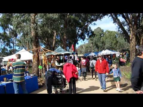 Australia, Melbourne, St Andrews hippi market