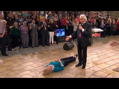 Benny Hinn - Anointing And Prayer For Healing Of Cancer