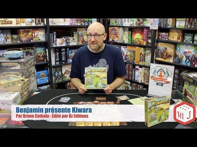 Benjamin présente Kiwara
