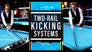 The BEST 2 Rail Kicking Systems!!! - Advanced Billiards Tutorial #6