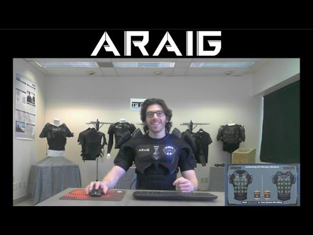 ARAIG – Community Calibrating the Suit
