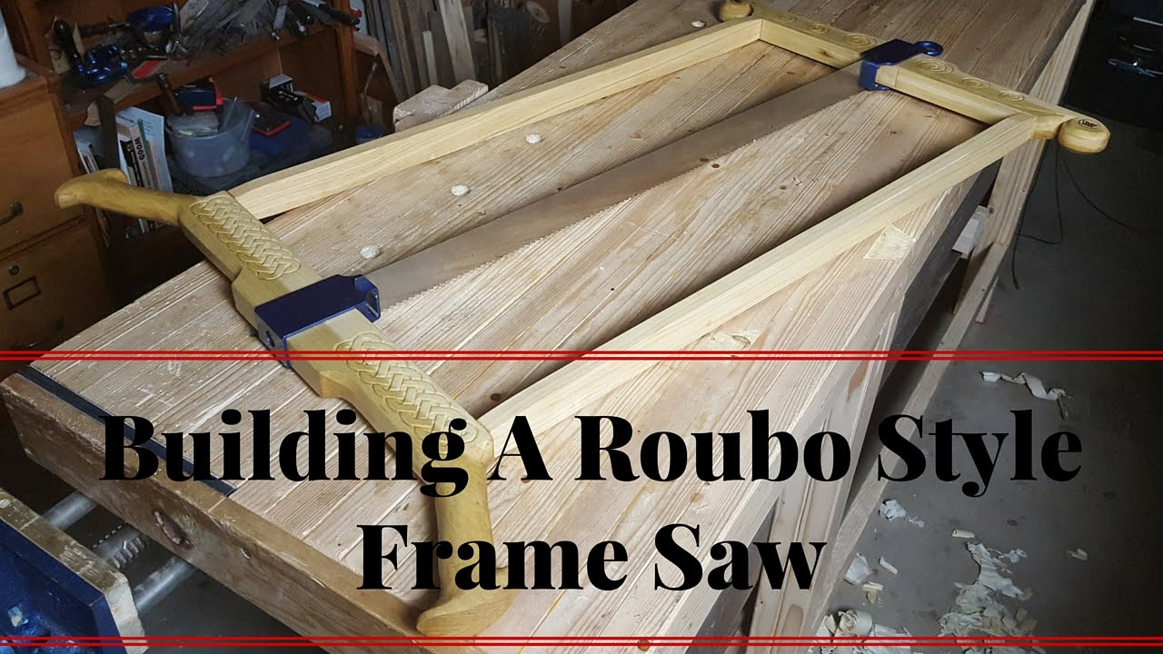 how to build a roubo style frame saw blackburn tools kit youtube. Black Bedroom Furniture Sets. Home Design Ideas