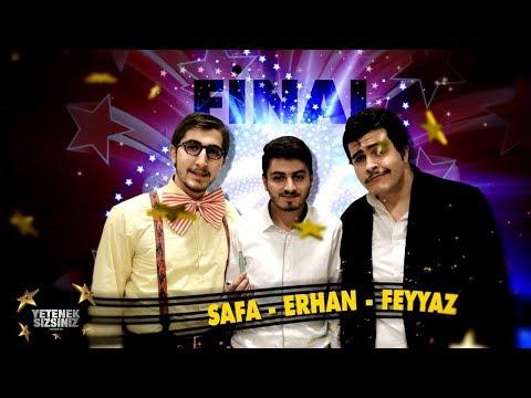 Safa - Erhan - Feyyaz | Komedi Gösterisi | Final | Yetenek Sizsiniz Türkiye 5. Sezon
