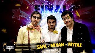 Safa - Erhan - Feyyaz   Komedi gösterisi   Final   Yetenek Sizsiniz Türkiye 5. Sezon