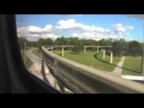 Disneyworld Monorail 1 (TTC to Magic Kingdom Express)