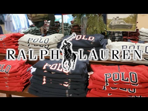 RALPH LAUREN POLO OUTLET VLOG // SHOP WITH ME