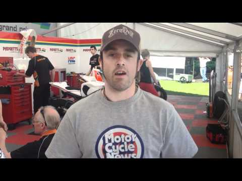 Chad's 2012 Isle of Man TT blog - the paddock