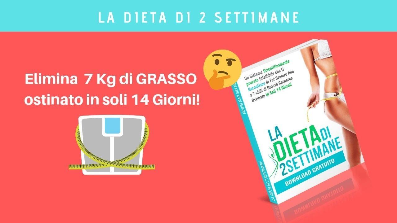 perdere 10 libbre in dieta di 3 settimanes