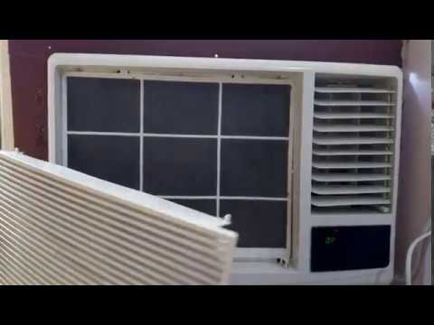 हिन्दी - How to Clean Hitachi AC Air Filter yourself (English Subtitles) -  Part 1