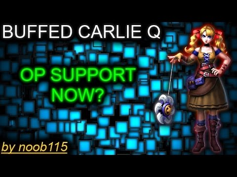Heroes of O&C: Carlie Q got OP! Best Support Hero!
