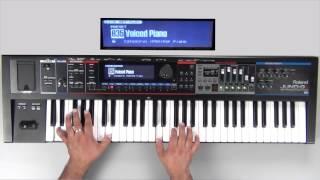 Roland Juno-Gi Sound Examples - Preset 035 - Voiced Piano