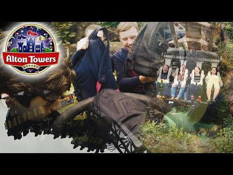 Trip to Alton Towers *VLOG* - with GoPro Footage!