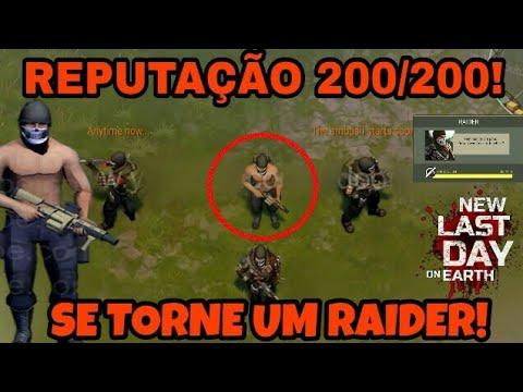 REPUTAÇÃO 200/200 COM OS INVASORES! PODEREMOS MORAR COM OS RAIDERS!!! Last Day On Earth