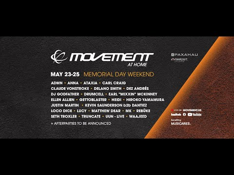 Day 2: Movement Festival At Home MDW 2020 | @Beatport  Live