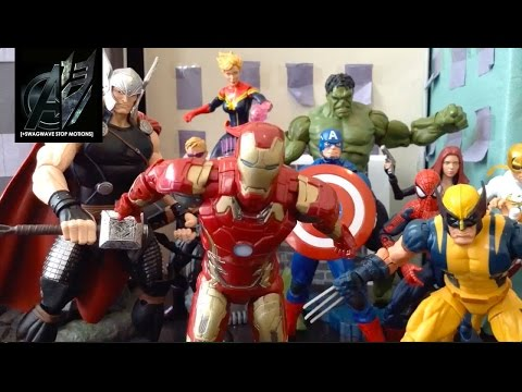 Avengers Stop Motion-[Age of Ultron] Avengers vs Ultron Stop Motion