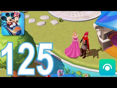 Disney Magic Kingdoms - Gameplay Walkthrough Part 125 - Level 33, Prince Phillip (iOS, Android)