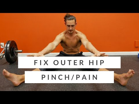 Outside Hip Pain 4 exercises for hip pain relief.