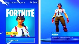 How To Get FREE MAVEN SKIN in Fortnite..
