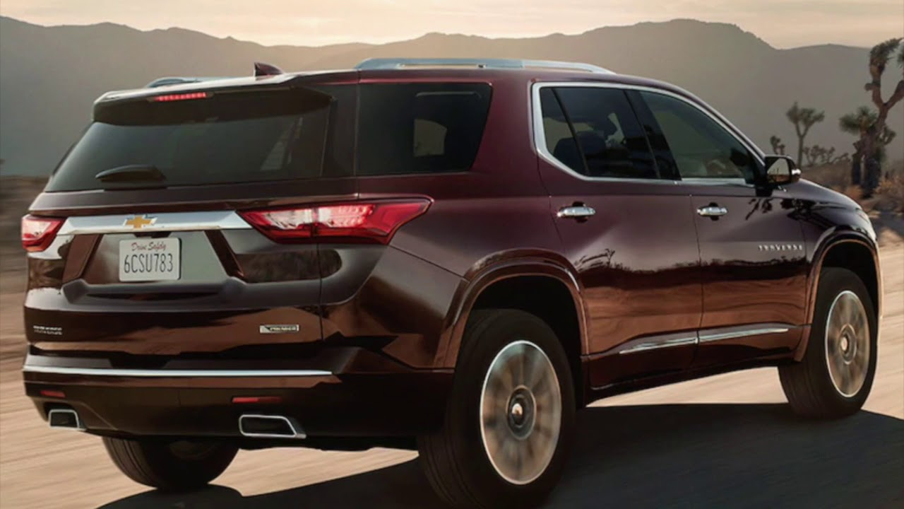 Test Drive The 2018 Chevy Traverse In Humble At Robbins Chevy