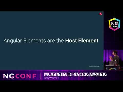 Elements in v6 and Beyond - Rob Wormald