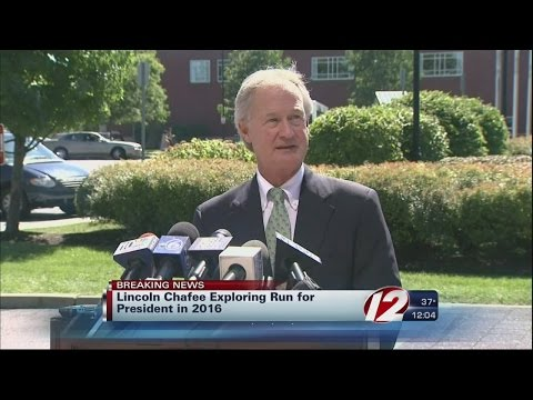 Chafee Considering Run for President in 2016