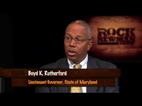 Maryland Lt. Governor Boyd Rutherford on Rock Newman Show