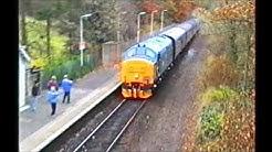 Glasgow to East Kilbride Railway, 125th Anniversary - 31 October 1993