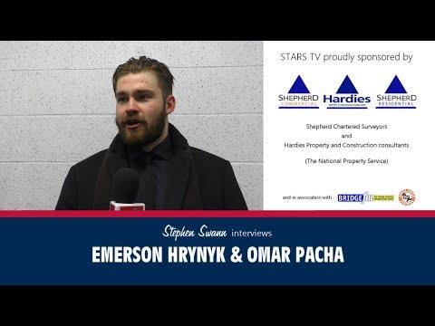 Emerson Hrynyk & Omar Pacha interviews