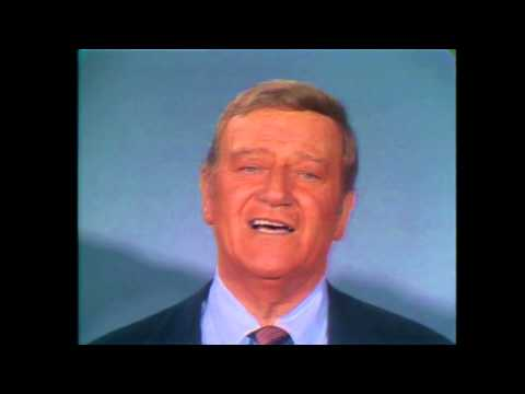 John Wayne & Celebrity Ensemble - God Bless America