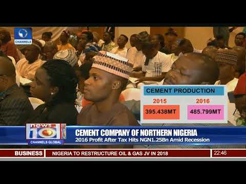 Cement Company Of Northern Nigeria: 2016 PAT Hits N1.25Bn Amid Recession