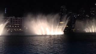 Dubai Fountain - Elissa Aa Bali Habibi