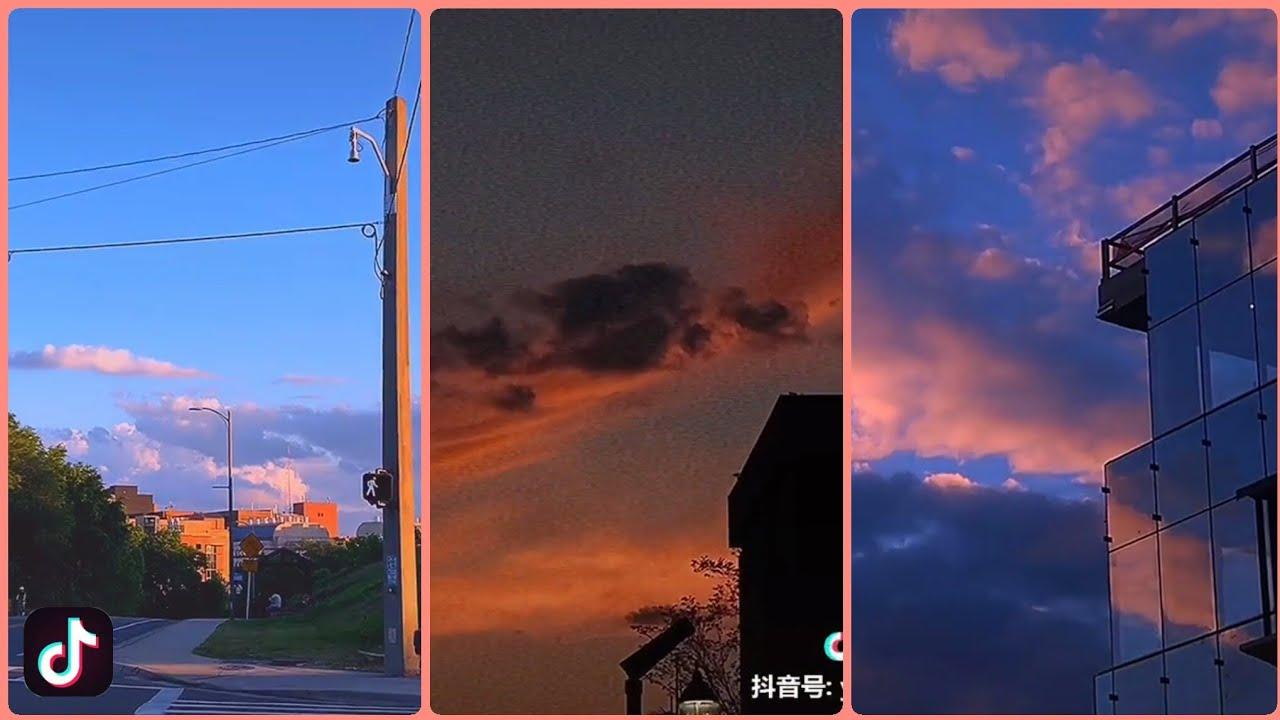 | Tik Tok Trung Quốc | Tổng hợp những clip về bầu trời cực đẹp ❤