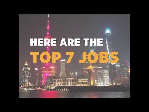 Top Job For Foreigners in China