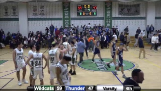 DRS Wildcats vs YDE Thunder (2)- Varsity Basketball Playoffs 2/14/19