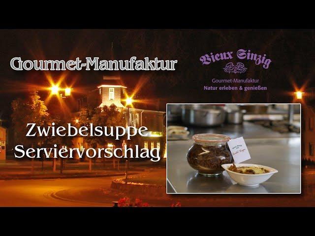 Zwiebelsuppe bei Vieux Sinzig
