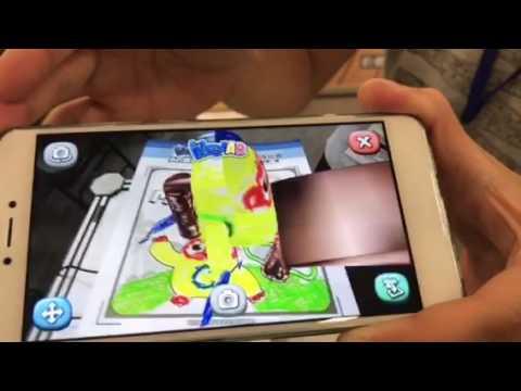 AR game, webcomics featured at Taipei comics fair
