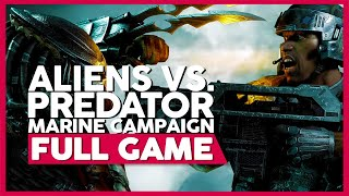 Aliens Vs. Predator (Marine Campaign) | PC 60ᶠᵖˢ | Full Gameplay/Playthrough | No Commentary