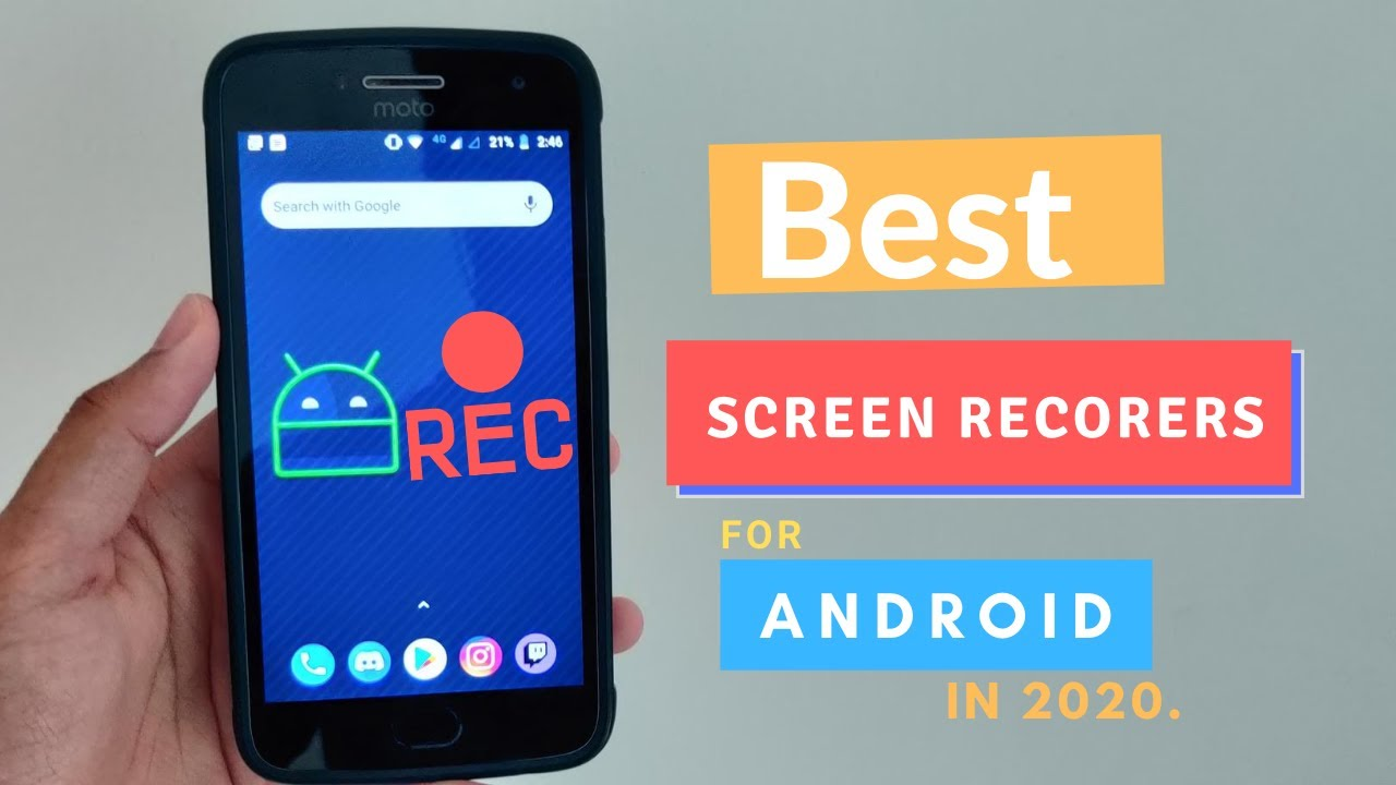 Best Screen Recorders for Android | 2020