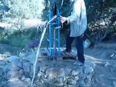 Pompe a corde pour puit abdel 10 - Pompe manuelle pour puit ...