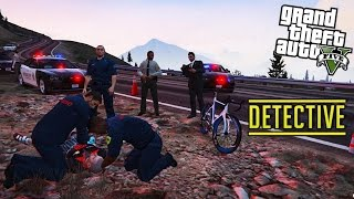 GTA 5 LSPDFR - Detective Crime Scene Investigation - Traffic CSI