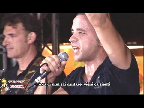 ZIMBARIA - Aria Caddhipulina (lyrics) - Taranta 2013, Pizzica Salentina