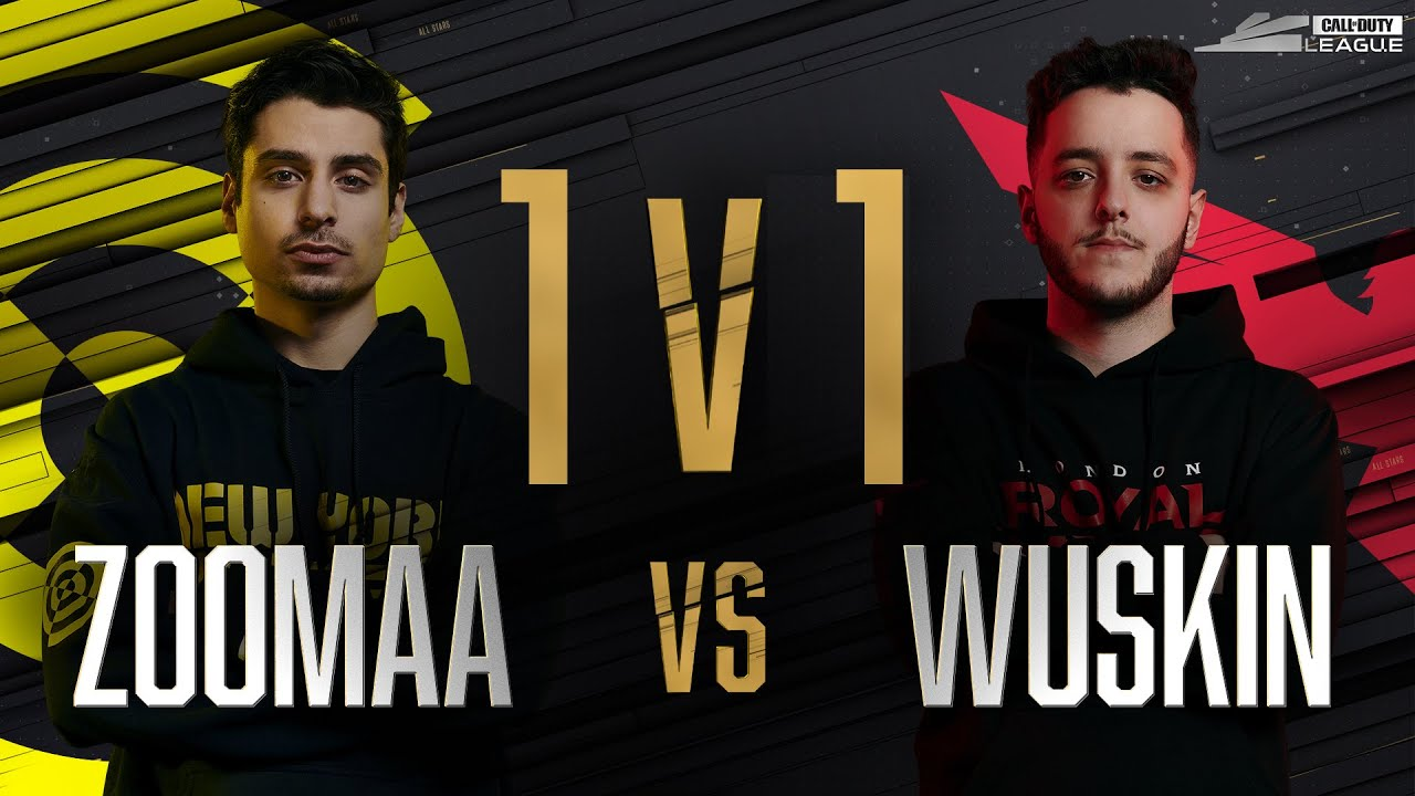 Round 1 | ZOOMAA vs WUSKIN — 1v1 Gunfight | All-Star Weekend Day 1