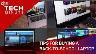 tips for buying a back to school laptop