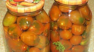Маринованные помидоры с лимонной кислотой? Легко и быстро!