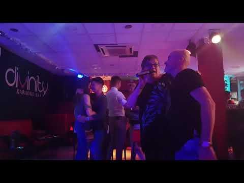 Aino Nivala at Karaoke Bar Divinity, Gran Canaria