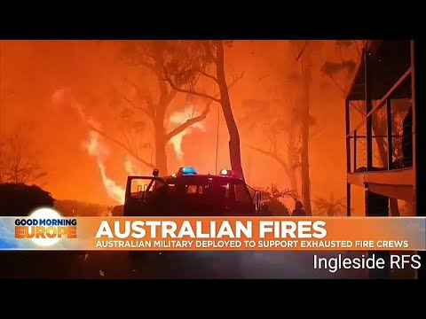 Australia fires: Military rescues residents as entire towns threatened ...