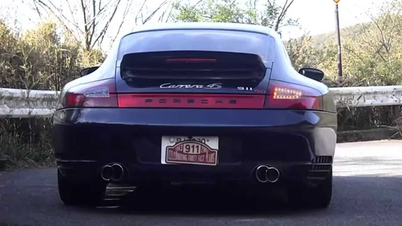 Flashing Led Tail Lights For 996 Wide Body C4s Turbo 7