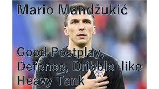 【サッカー】クロアチア代表 マリオ・マンジュキッチ!!!ポストプレー,ゴール,ディフェンス集【重戦車】